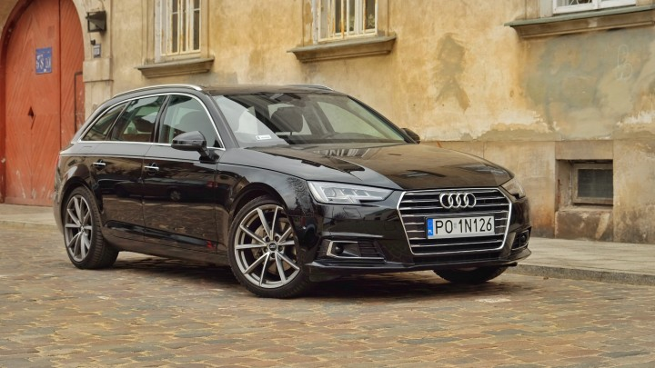 test audi a4 avant 2 0 tdi 190 km s tronic b9 nowe. Black Bedroom Furniture Sets. Home Design Ideas