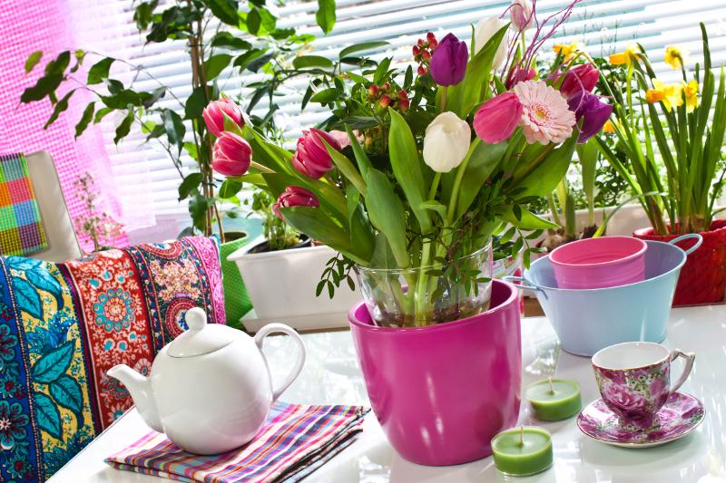 Wielkanoc w salonie. Fot. Fotolia