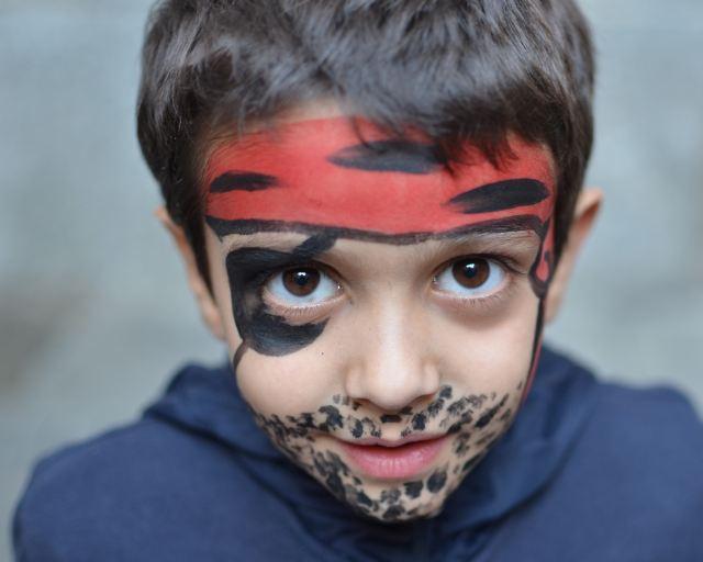 Jak Pomalować Dziecko Na Karnawał Inspirujące Zdjęcia Strona 9