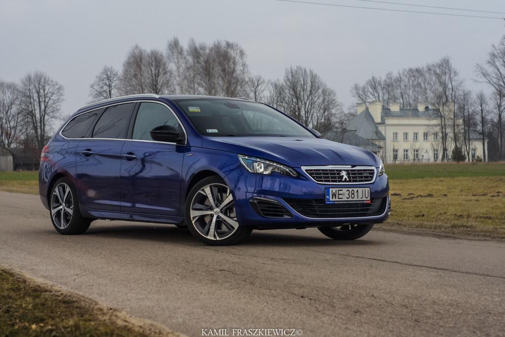 Test Peugeot 308 Sw Gt Sportowe Zapedy Kombi Nowe Testy Aut